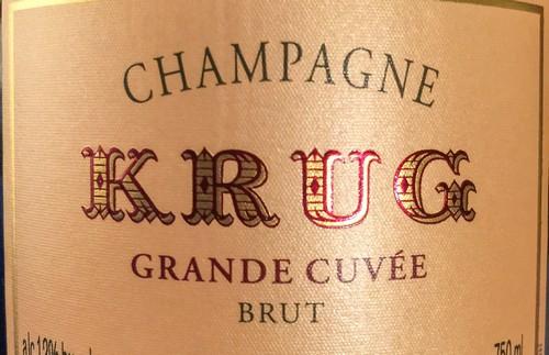 Champagne le plus cher Krug 1928