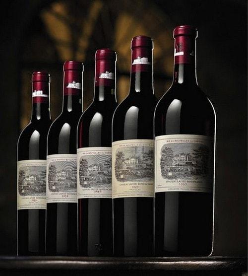 Château Lafite 1869 vin cher