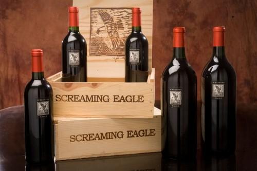 Vin le plus cher du monde Aigle hurlant Cabernet Sauvignon 1992