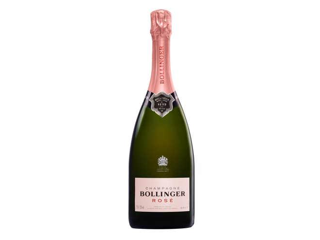 Le Bollinger Rosé est parmi les meilleures marques de Champagne