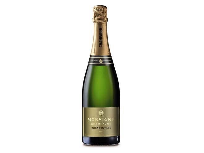 Veuve Monsigny Millesime 2006 parmi les meilleures marques de Champagne