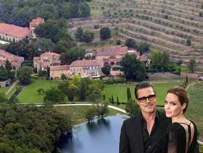 Brad Pitt & Angelina Jolie Chateau de Miraval