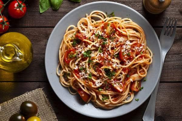 spaghetti all arrabbiata